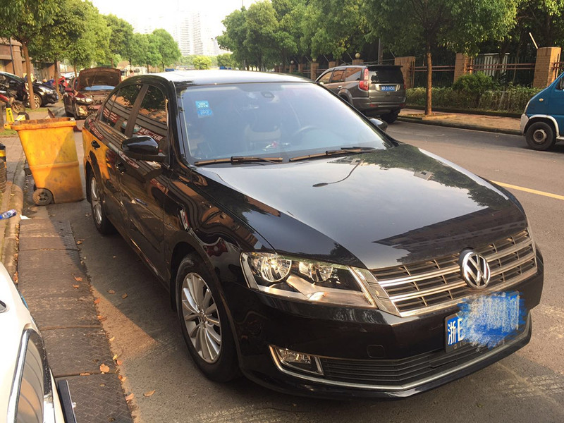 宁波大众朗逸2013款1.6L自动豪华版