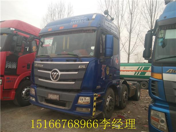 欧曼 380马力 双驱 配货车