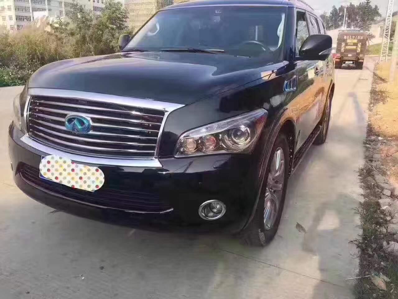 黔南2012 英菲尼迪QX56 黑色二手车