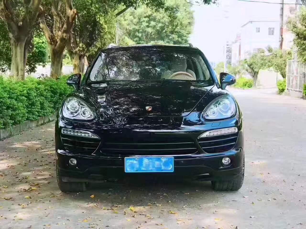 温州2012保时捷卡宴4.8L 黑色二手车