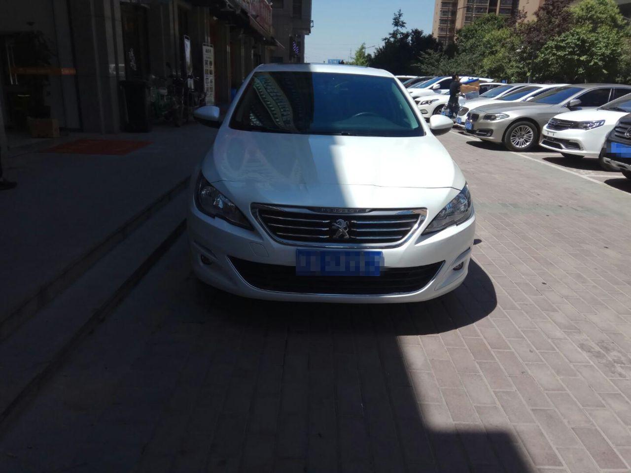 西安标致408   1.2T自动豪华二手车