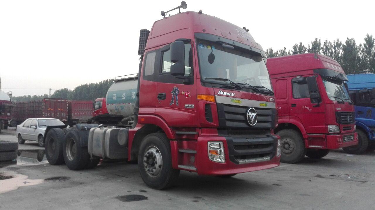 【济宁】出售二手欧曼ETX双驱半挂车 价格14.00万 二手车