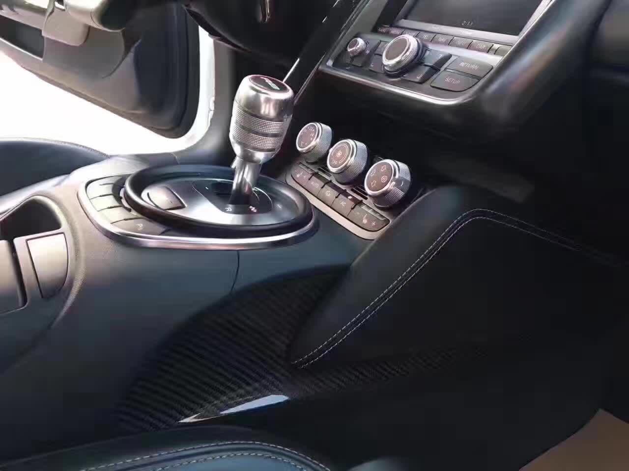 全新2014款奥迪 R8  纯白色 黑内二手车