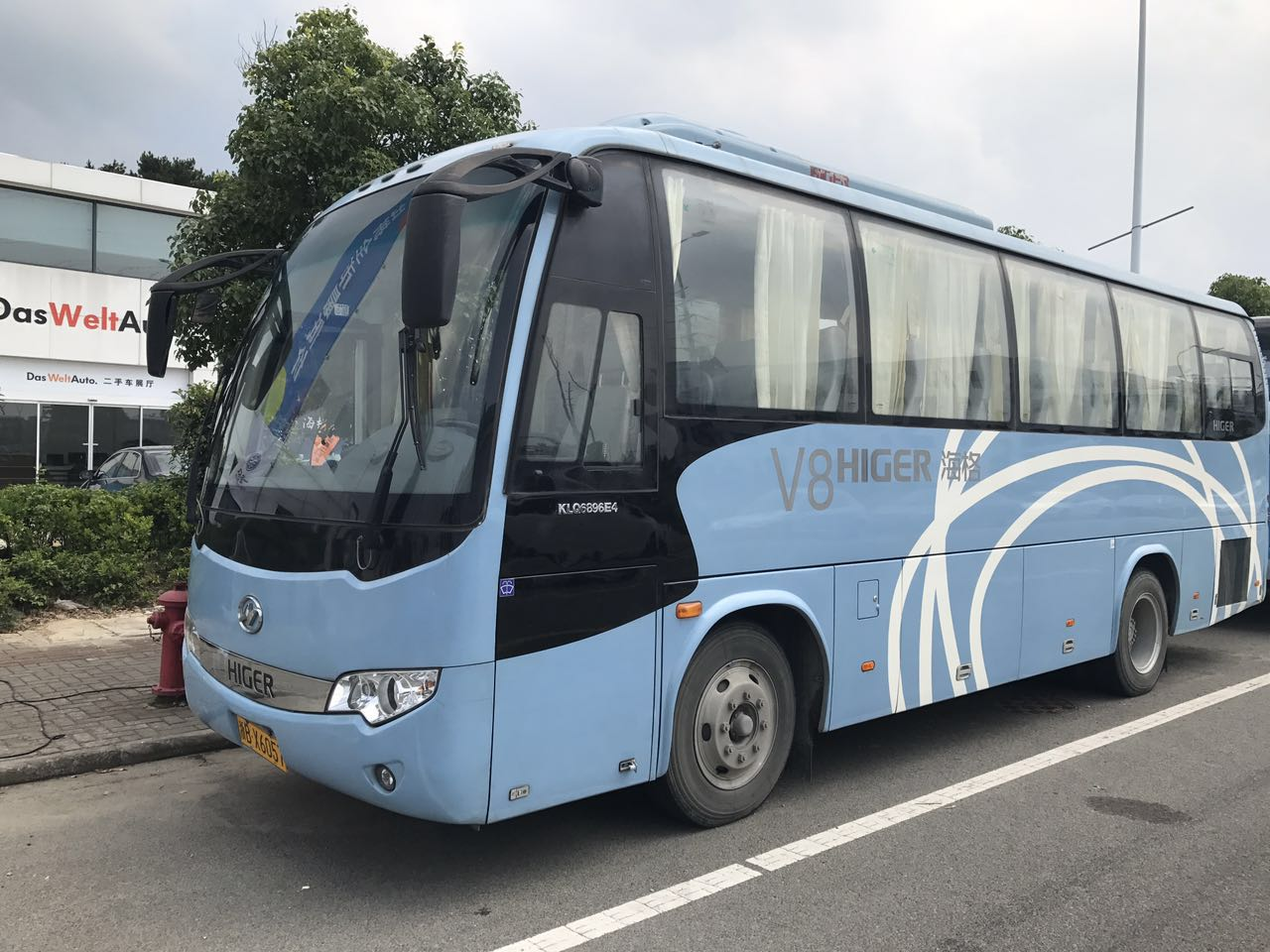 海格客车 KLQ6896e4