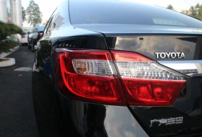 丰田2013款 凯美瑞 2.0G 舒适版二手车