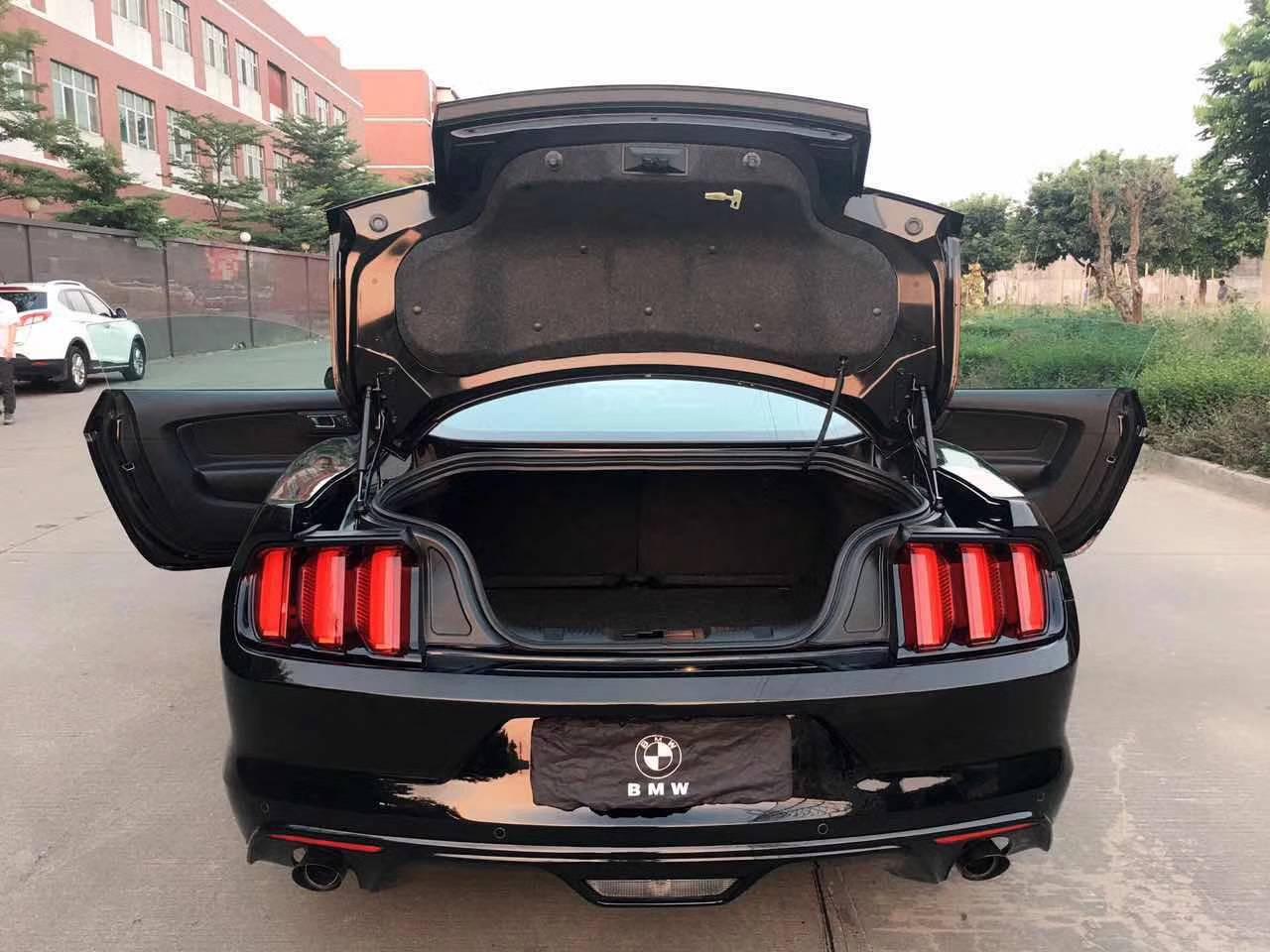 【中卫】15w16福特野馬/2.3T 黑色黑籠   价格15.00万 二手车