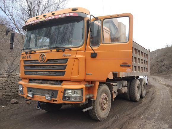 忻州出售一批工程自卸车陕汽德龙二手车