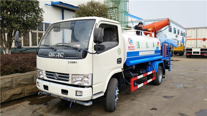 东风5方洒水车价格CLW5072GSSD5型洒水车二手车