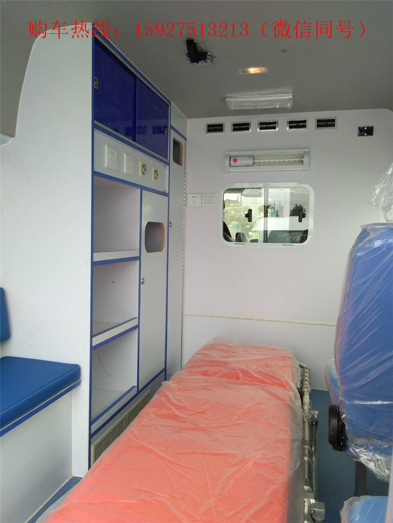 福特新全顺短轴救护车,监护型二手车