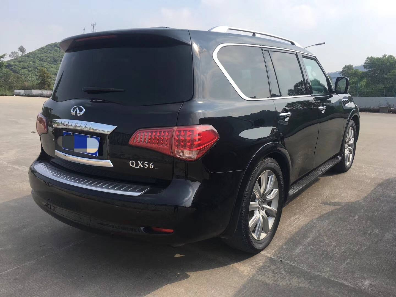 23w14款英菲尼迪QX56 黑色 米內二手车