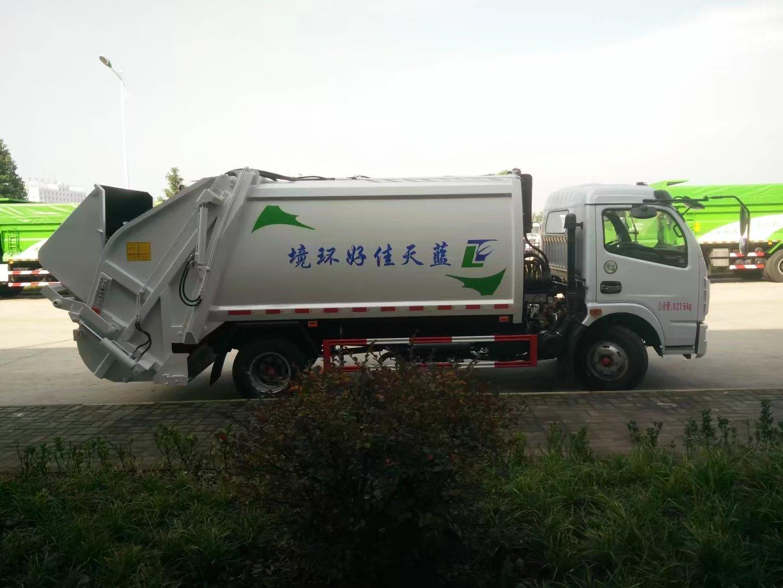 东风多利卡压缩垃圾车二手车
