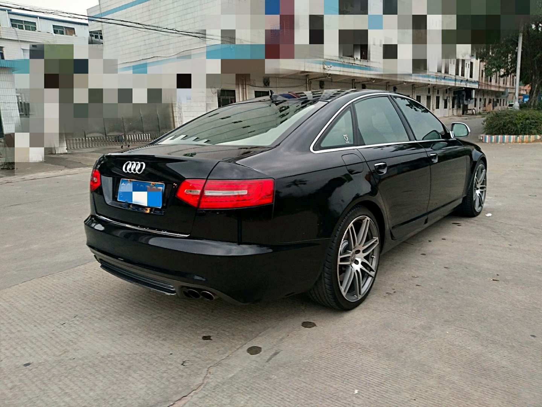 15万纯12奥迪S6_5.2s〈纯德版〉黑色棕内二手车