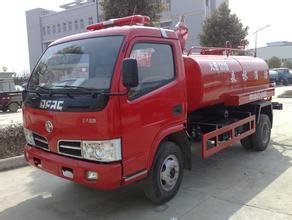 【菏泽】东风多利卡水罐消防车 价格3.00万 二手车