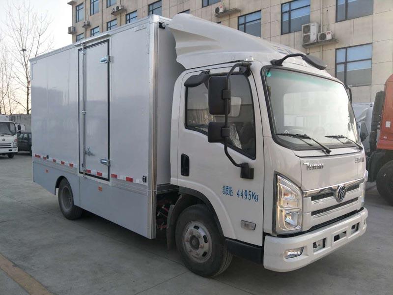 4.2米纯电动厢式货车 厢式电动货车 电动冷藏车