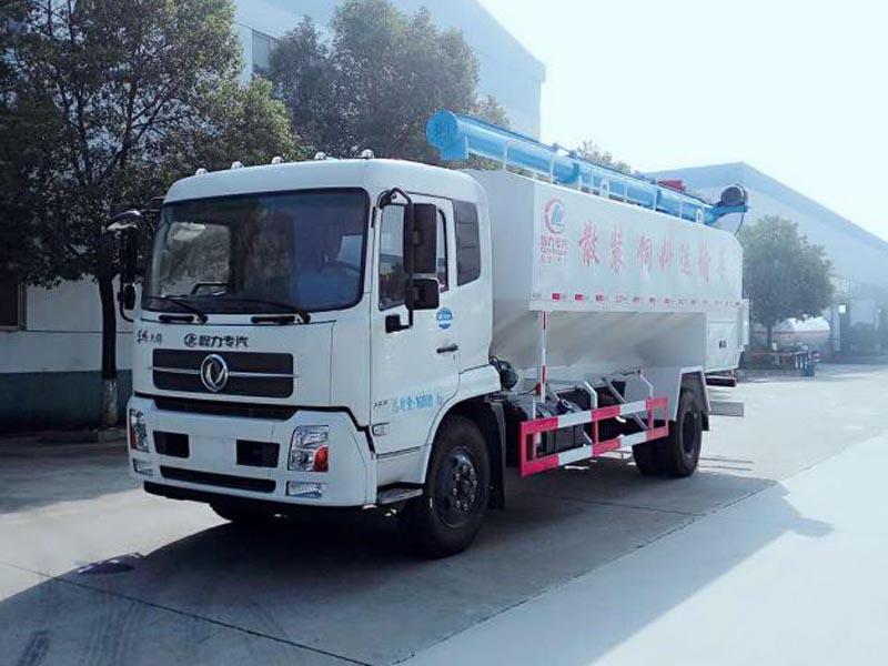 【随州】5吨8吨10吨13吨15吨20吨散装饲料运输车价格配置  价格12.00万 二手车