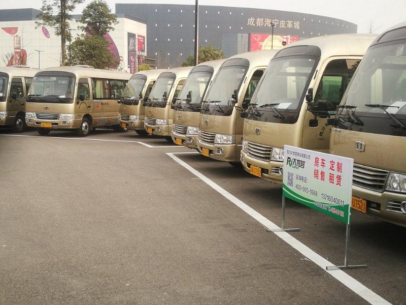 【成都】中植电动商务客车 价格12.00万 二手车