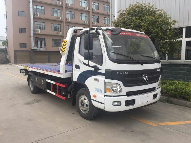 【随州】道路清障车随车吊救援拖车 价格6.80万 二手车