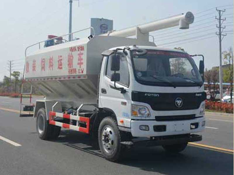 【随州】东风天龙20吨散装饲料运输车价格/图片/配置     价格18.00万 二手车