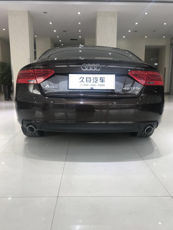 【盘锦】奥迪A5 价格30.80万 二手车