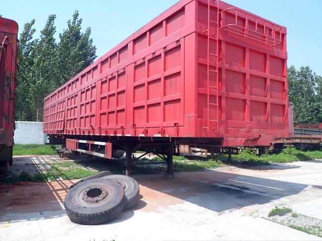 【平凉】出售平板13米侧翻自卸半挂车 价格5.00万 二手车