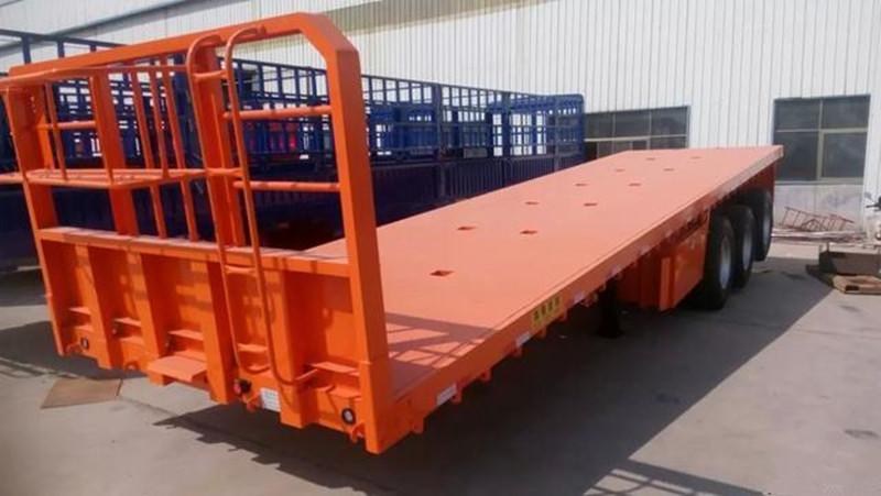 专业订做13米平板运输车