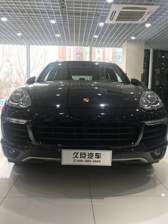 【鞍山】保时捷卡宴  2015款3.0T 价格93.60万 二手车