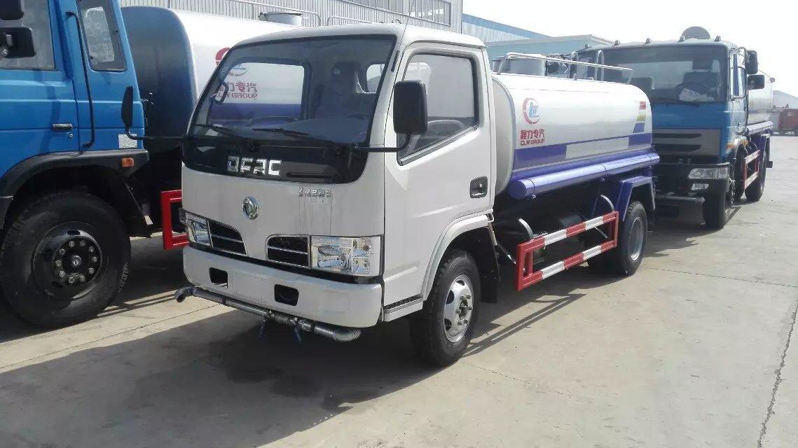 东风5吨洒水车多功能绿化喷洒车二手车