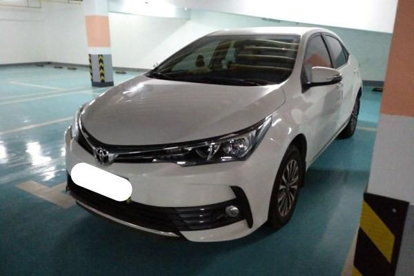 卡罗拉改款1.2T手动GL 9.9万二手车