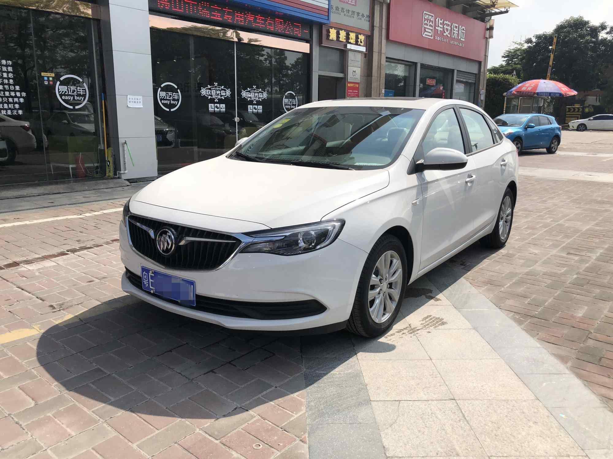 【广州】别克英朗15T双离合精英版 价格9.80万 二手车