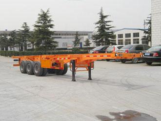 专业定制轻型20-48英尺集装箱半挂车