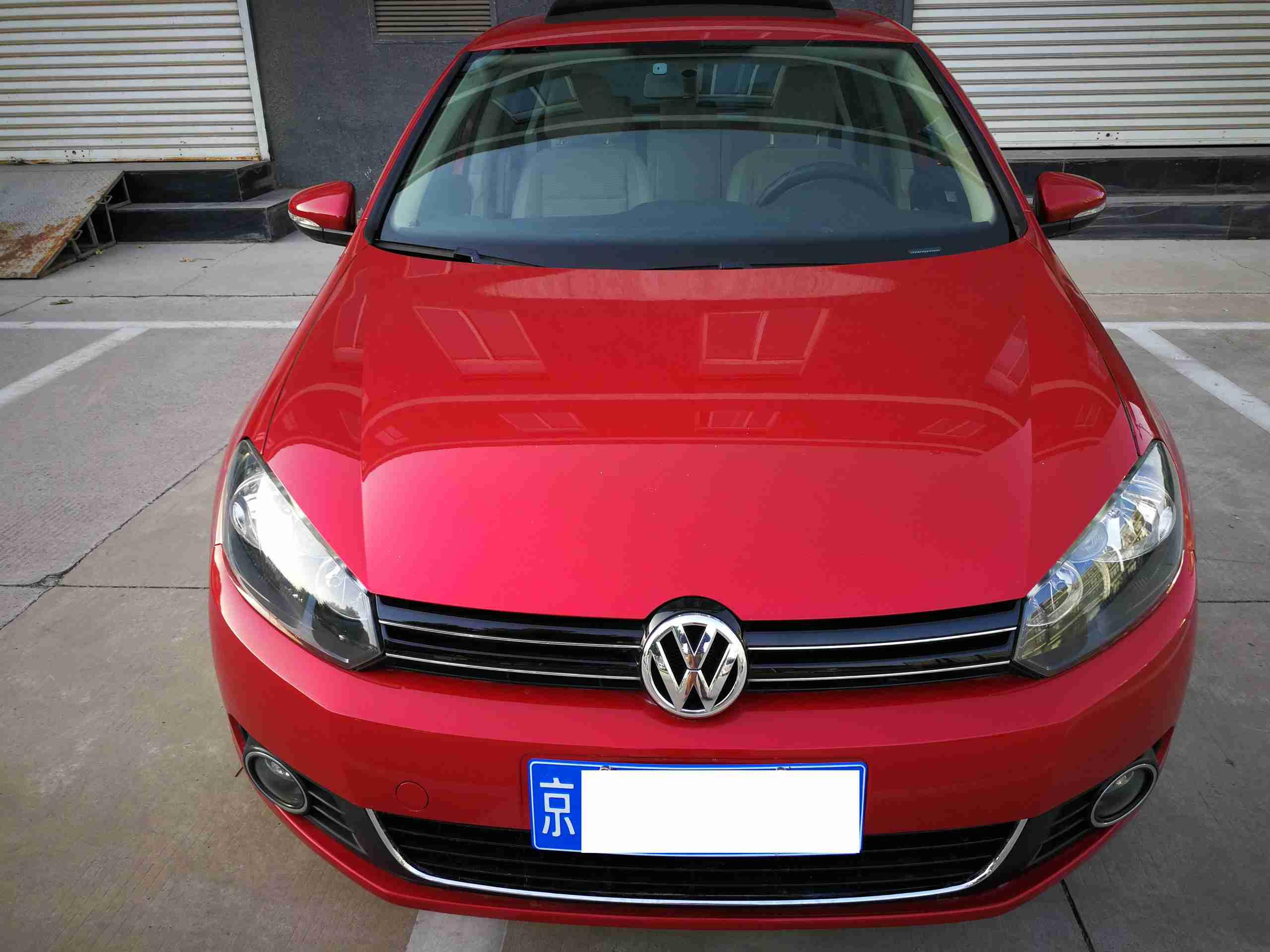 【北京】2010年1.4T自动高尔夫 价格6.38万 二手车