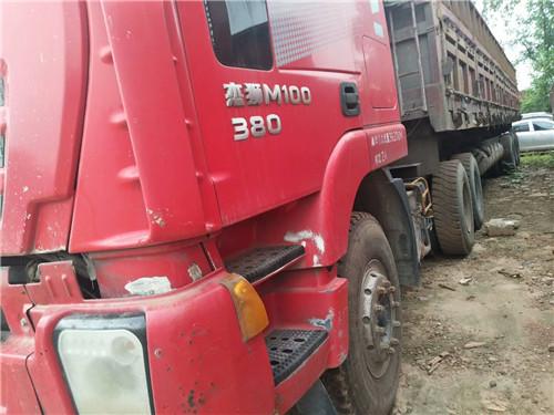杰狮M100  重型牵引车  配十三米重型百吨王二手车