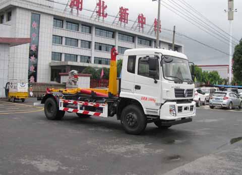 【随州】东风145勾臂垃圾车 价格15.60万 二手车