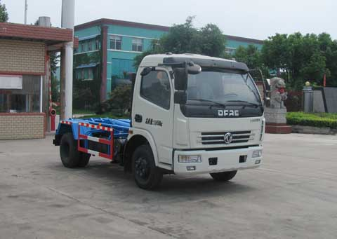 【随州】东风多利卡5吨勾臂垃圾车 价格15.60万 二手车