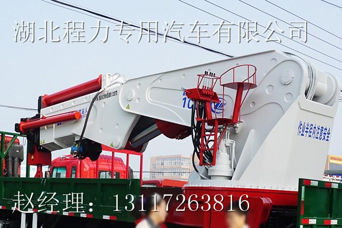 【随州】100吨随车吊随车起重运输车价格 价格10.00万 二手车