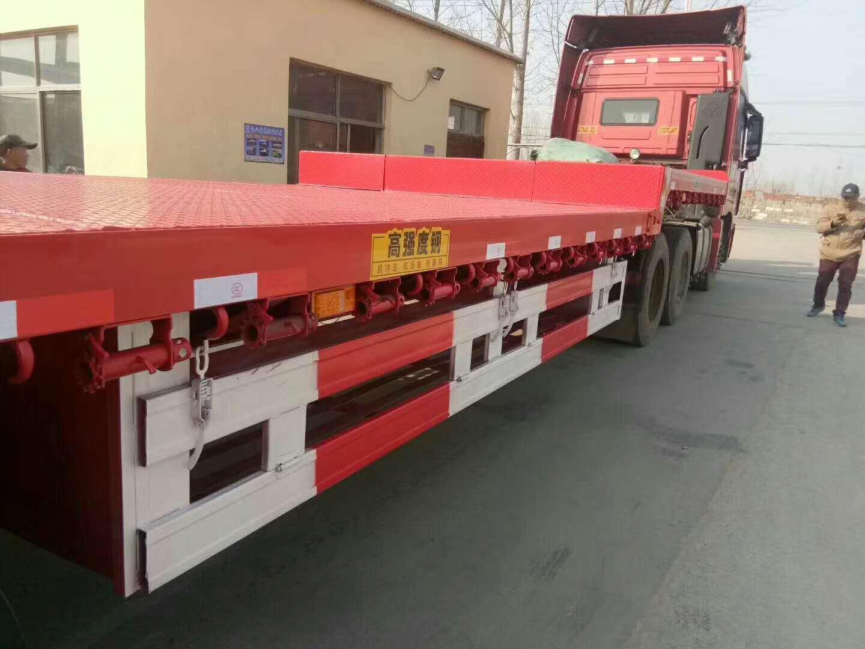 【济宁】13.75等宽大板车 带手续 价格8.40万 二手车