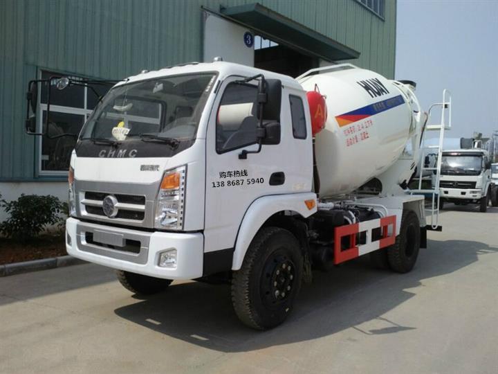 【随州】南骏6方水泥搅拌车水泥罐车价格 价格16.80万 二手车