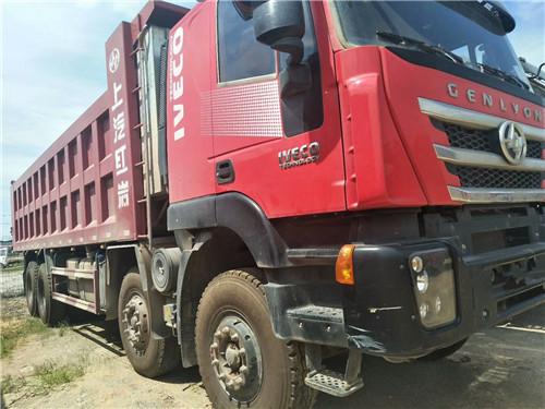 【宜春】杰狮C500 半年430马力,底12边10,车厢8.2米  价格40.20万 二手车