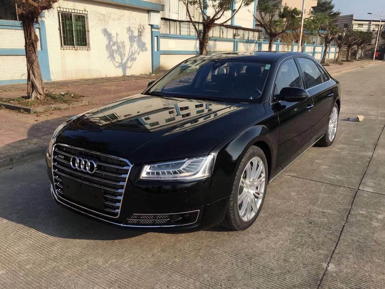 【东莞】17款奥迪A8 W12 6.3 徳国版四座 黑色 价格47.00万 二手车