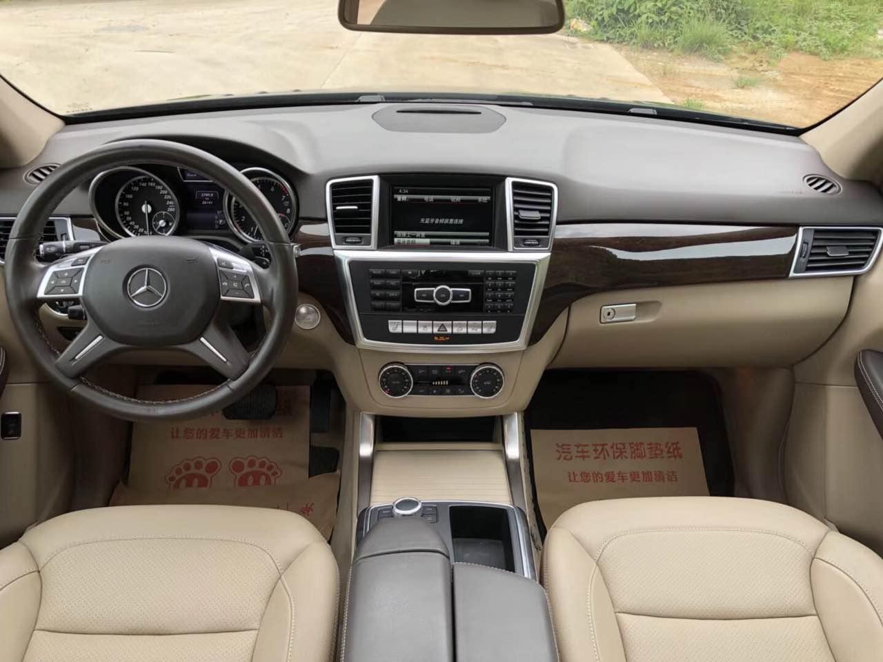【东莞】15款奔驰ML350 价格25.00万 二手车