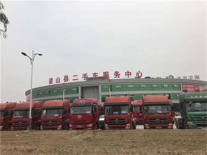 国四国五牵引车天龙J6欧曼等新款重卡货车二手车