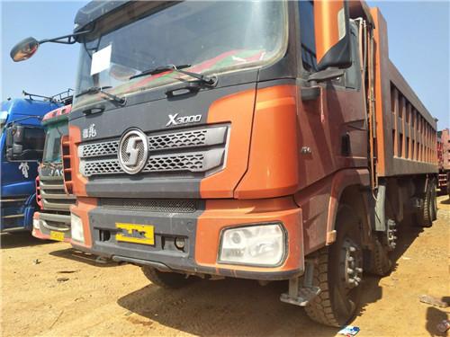 德龙X3000 17年2月上户,430马力,车厢8米2,带全保  二手车