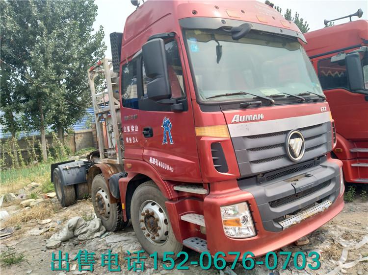 【临汾】二手天然气半挂牵引车解放欧曼德龙LNG加气车 价格10.00万 二手车