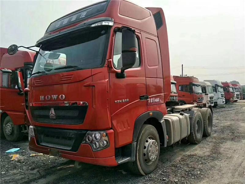 【吐鲁番】二手重汽豪沃T7重卡440马力德国曼发动机分期出售 价格20.80万 二手车