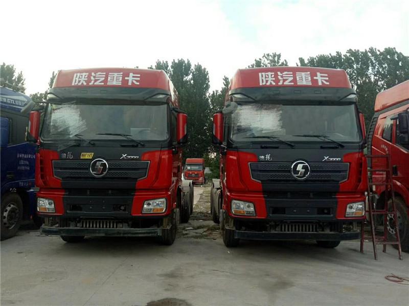 【东莞】陕汽德龙X3000半挂牵引车X500马力分期出售包过户 价格22.80万 二手车