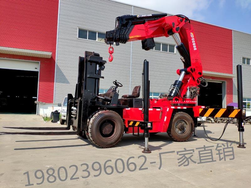 【随州】叉车40吨折臂吊报价 价格20.00万 二手车