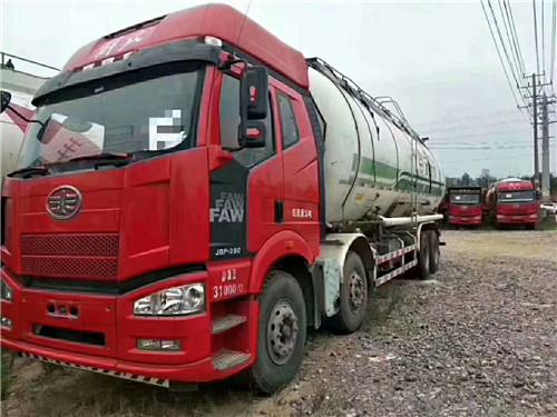 【宜春】J6P  两年国四排放,前四后八,390马力,48方罐 价格20.80万 二手车
