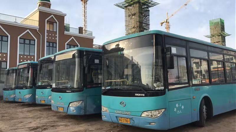 12年厦门金龙公交客车
