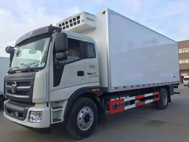 福田瑞沃6.8米冷藏车,程力厂家直销:18372235977