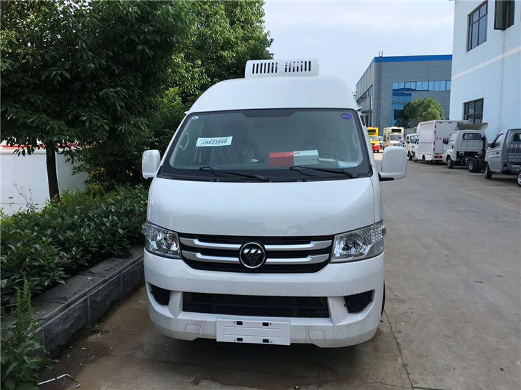 福田G7面包冷藏车,小型冷藏车,鲜奶运输车